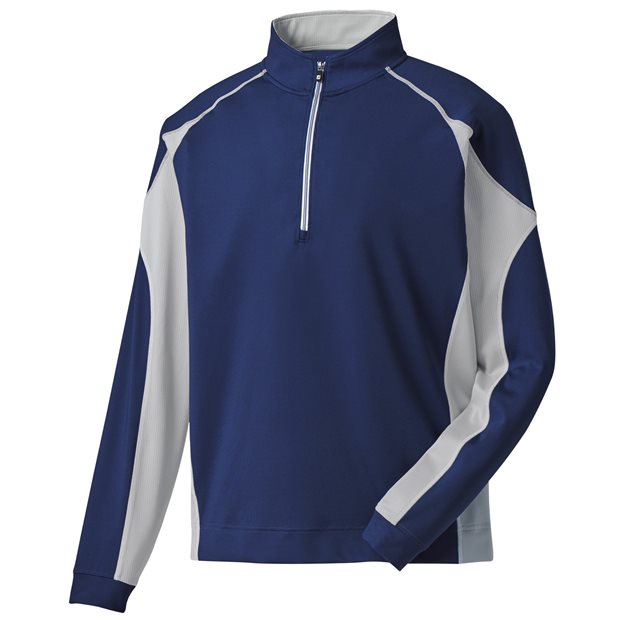 FootJoy Mixed Texture Sport Half-Zip Outerwear Apparel