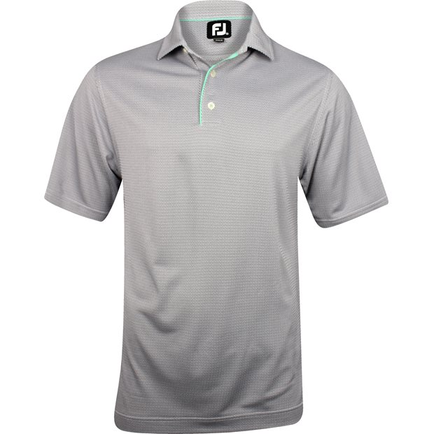 FootJoy Amelia Island Geometric Jacquard Previous Season Apparel Style Shirt Apparel