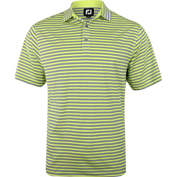 FootJoy Pacific Grove Lisle Multi Stripe Previous Season Apparel Style Shirt Apparel
