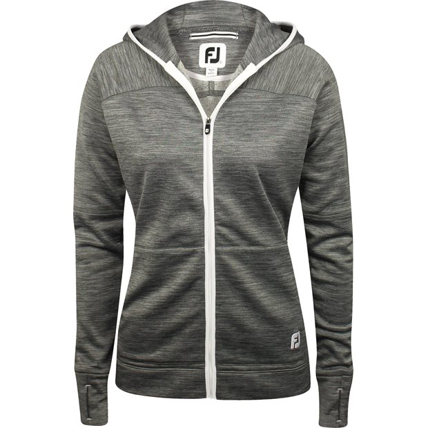 FootJoy Full-Zip Fleece Hoodie Outerwear Apparel