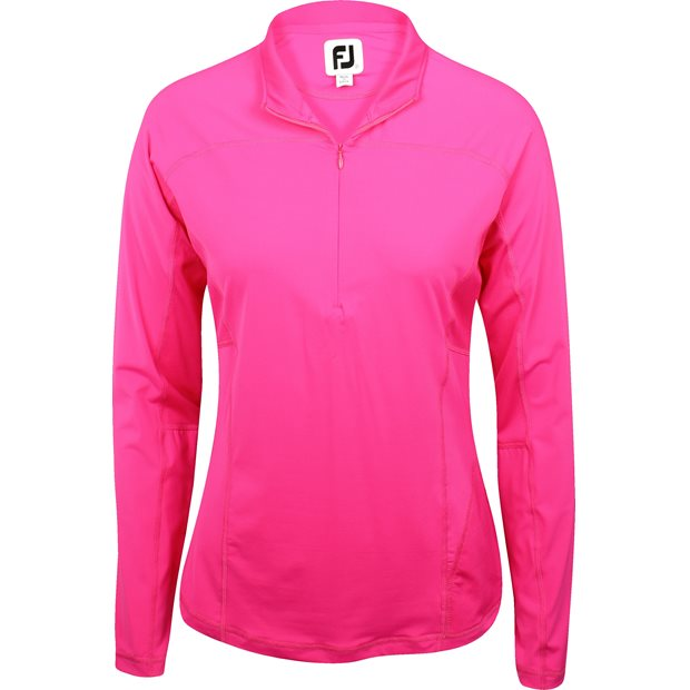 FootJoy Lisle L/S ½ Zip Sun Protection Shirt Apparel