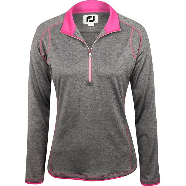 FootJoy Long Sleeve ½ Zip with Faux Layer Outerwear Apparel