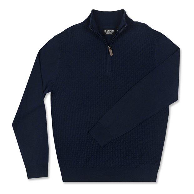 G-Mac Balam 1/4 Zip Sweater Apparel