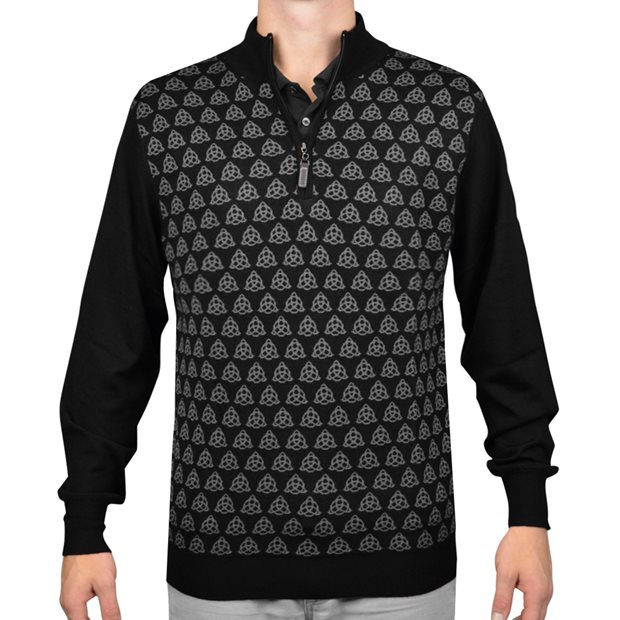 G-Mac Ramsay 1/4 Zip Sweater Apparel