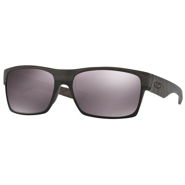 Oakley Two Face PRIZM Daily Polarized Woodgrain  Sunglasses Accessories