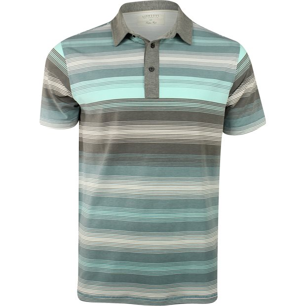 Linksoul Dry-Tech Cotton Blend Multi Stripe Shirt Apparel
