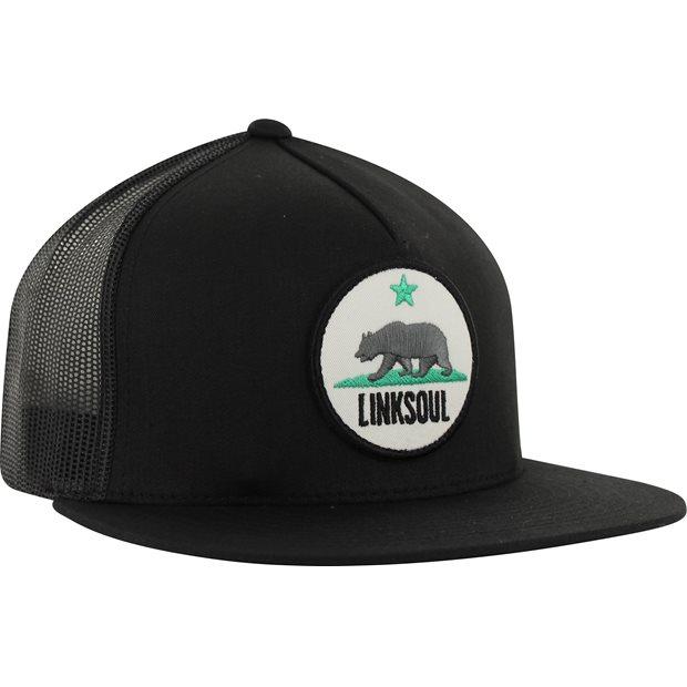 Linksoul California Trucker Patch Headwear Apparel