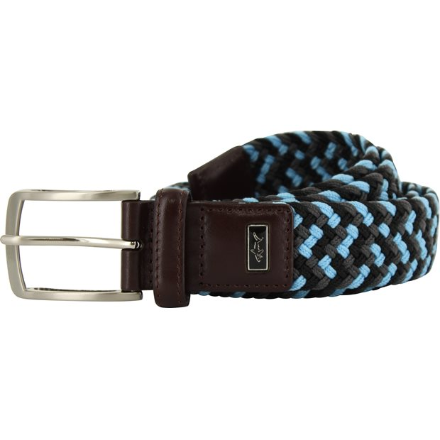Greg Norman Multi-Color Braided Stretch Accessories Apparel