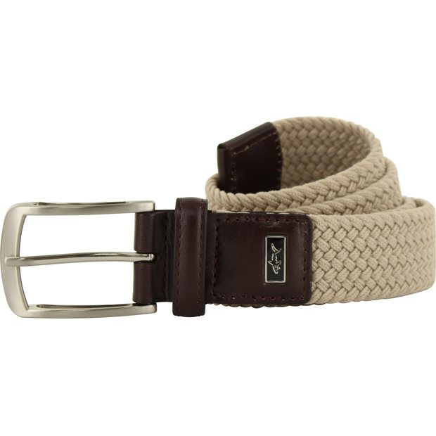 Greg Norman Solid Braided Stretch Accessories Apparel