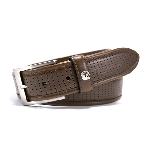 Arnold Palmer Perforated Leather Accessories Apparel