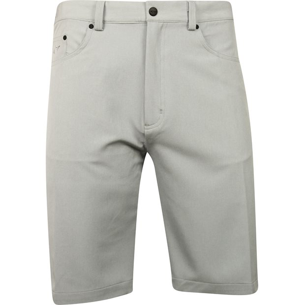 Greg Norman 5-Pocket Heathered Shorts Apparel