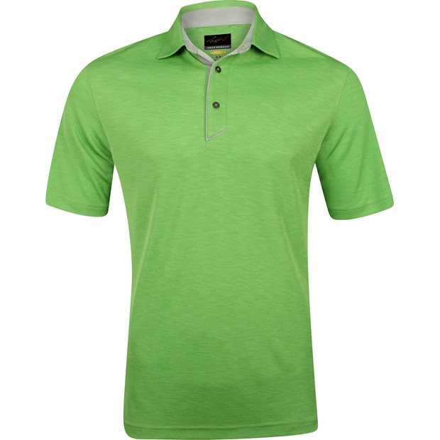 Greg Norman Textured Heathered Shirt Apparel