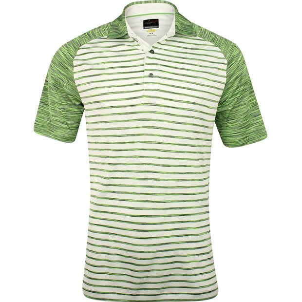 Greg Norman WeatherKnit Stripe Space Dye Shirt Apparel