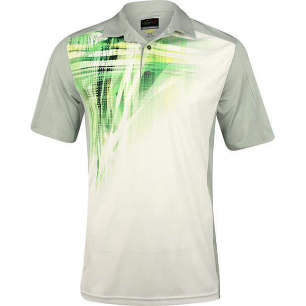 Greg Norman WeatherKnit Sublimation Shirt Apparel