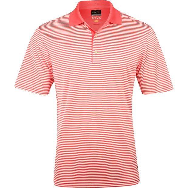 Greg Norman ML75 Bar Stripe 433 Shirt Apparel