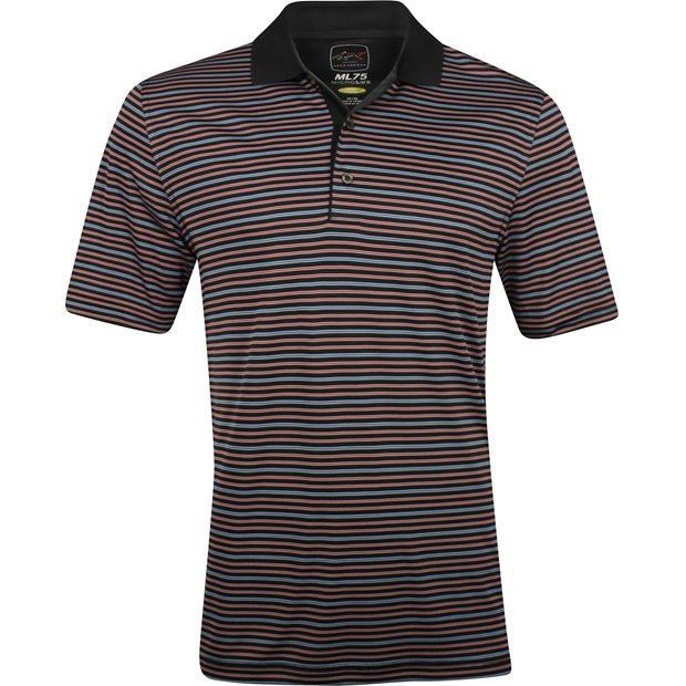 Greg Norman ProTek ML75 Microlux Stripe 450 Shirt Apparel
