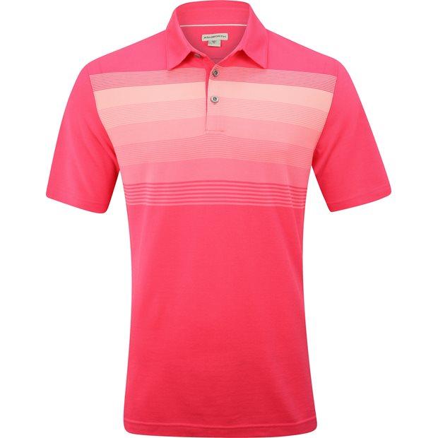 Ashworth Gradiation Stripe Pique Shirt Apparel