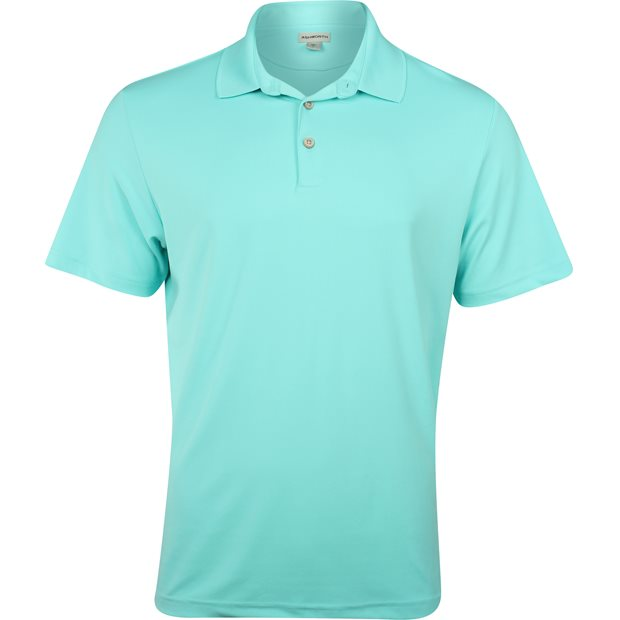 Ashworth Matte Interlock Solid Stretch Shirt Apparel