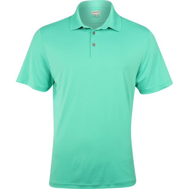 Ashworth Matte Interlock Solid Stretch Shirt Apparel