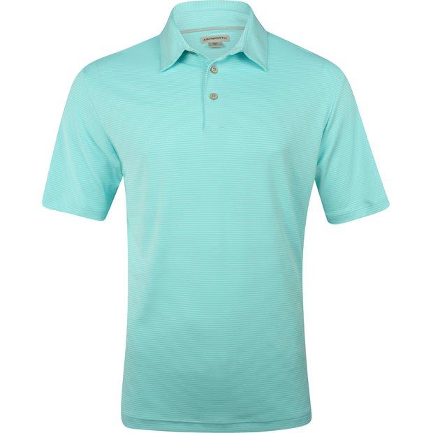 Ashworth Matte Interlock Mini Stripe Shirt Apparel
