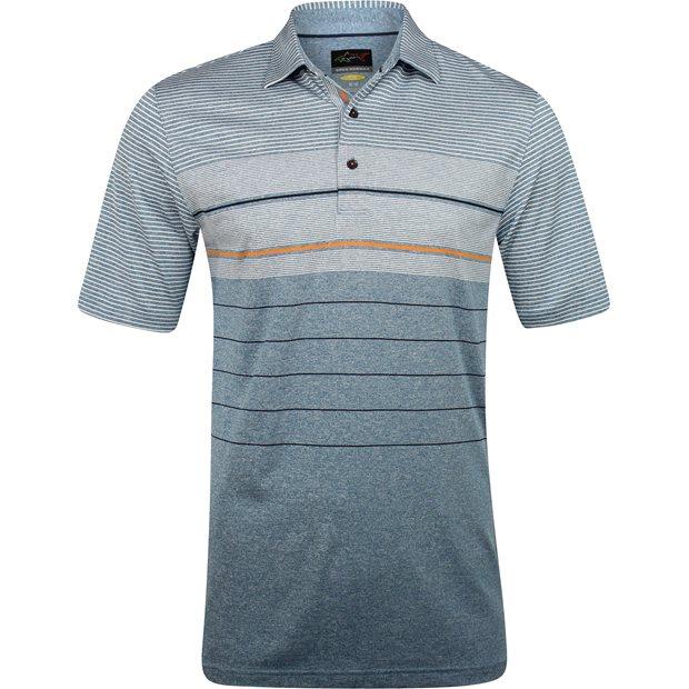 Greg Norman Soundwave ML75 Stretch Engineered Stripe Shirt Apparel