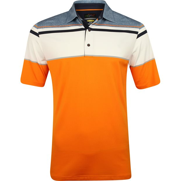 Greg Norman Soundwave Engineered Stripe Shirt Apparel