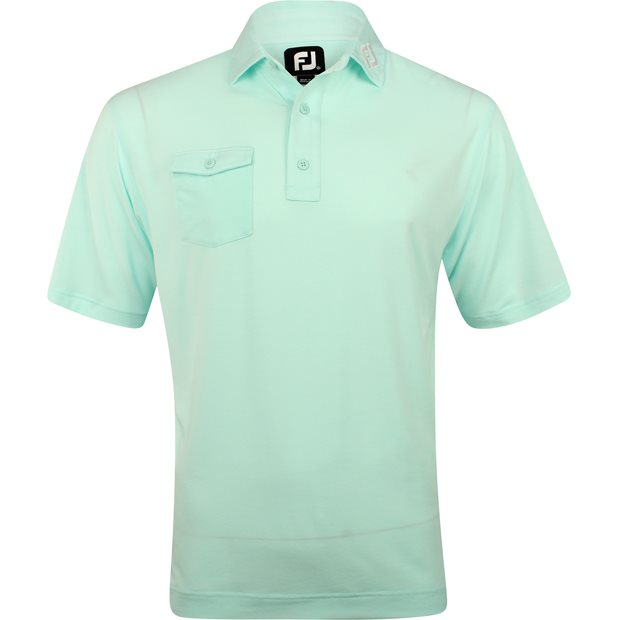 FootJoy ProDry Performance Chest Pocket Tour Logo Shirt Apparel