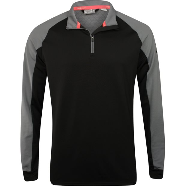 Puma PWRWarm ColorBlock Quarter-Zip Outerwear Apparel
