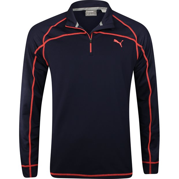 Puma Embossed ¼ Zip Outerwear Apparel
