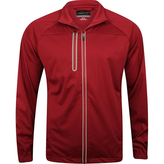 Greg Norman Full Zip Weatherknit Rainwear Apparel