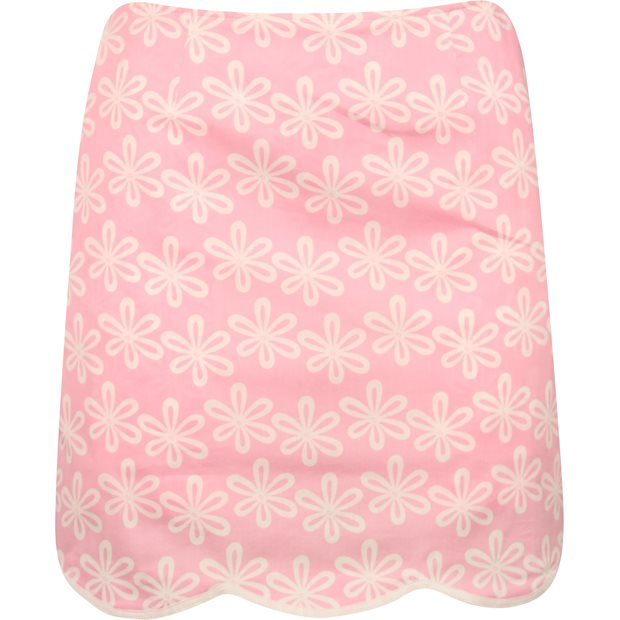 """Golftini Flower Power Pink Stretch Cotton 19"""" Skort Apparel"""