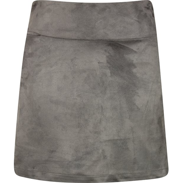 Golftini Bar-Fly Grey Washable Ultrasuede Skort Apparel