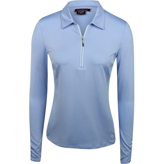 Golftini L/S Zip Tech Shirt Apparel
