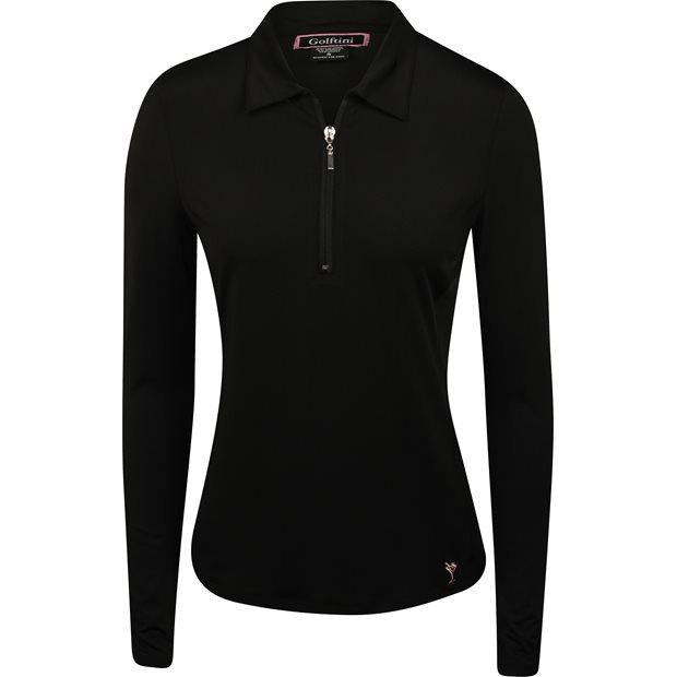 Golftini L/S Zip Tech Shirt Apparel