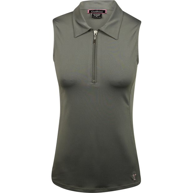 Golftini Sleeveless Tech Zip Shirt Apparel