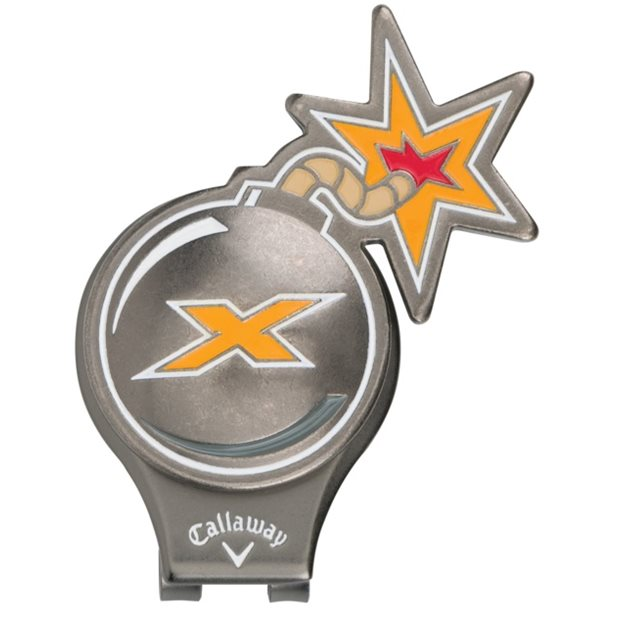 Callaway X-Bomb Hat Clip Ball Marker Accessories
