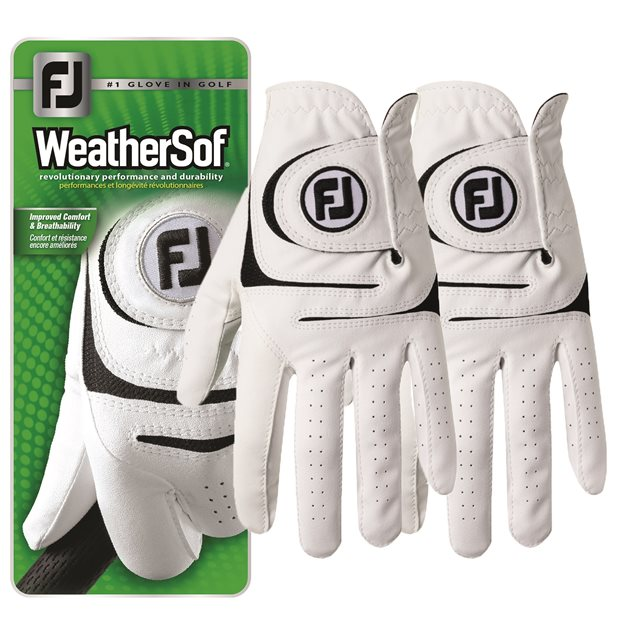 FootJoy WeatherSof (2-Pack) Golf Glove Gloves