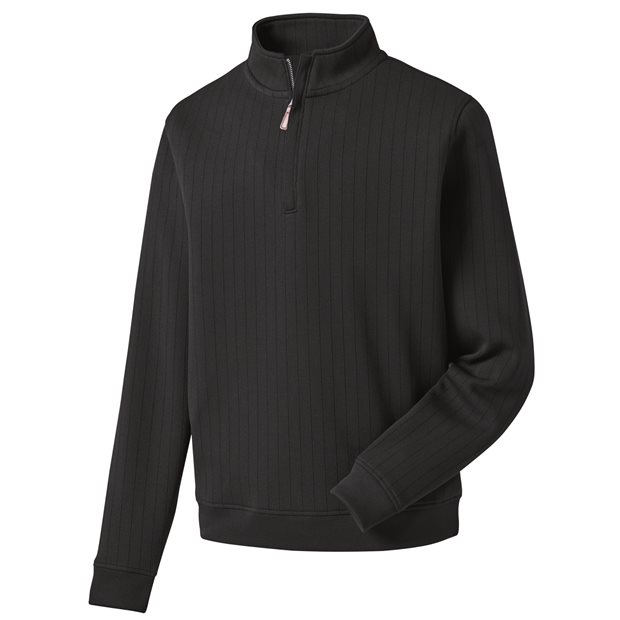 FootJoy Drop Needle Half-Zip Gathered Waist Outerwear Apparel