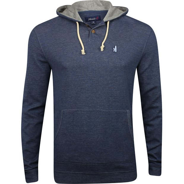 Johnnie-O Layton Hooded Henley Sweatshirt Outerwear Apparel