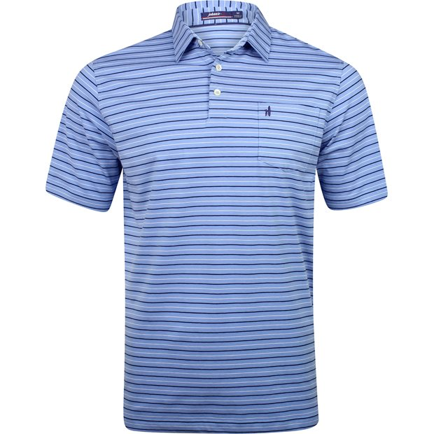 Johnnie-O Finch Stretch Jersey Striped Shirt Apparel