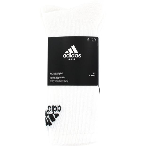 Adidas Golf 3-Pack Socks Apparel