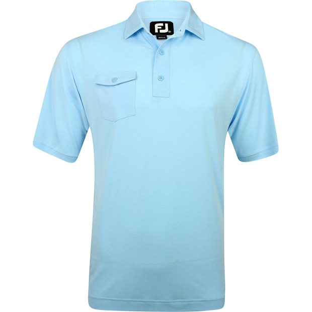 FootJoy Prescott ProDry Performance Spun Poly Chest Pocket Shirt Apparel