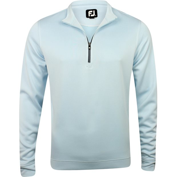 FootJoy Prescott Stripe Double Layer Knit Half-Zip Outerwear Apparel