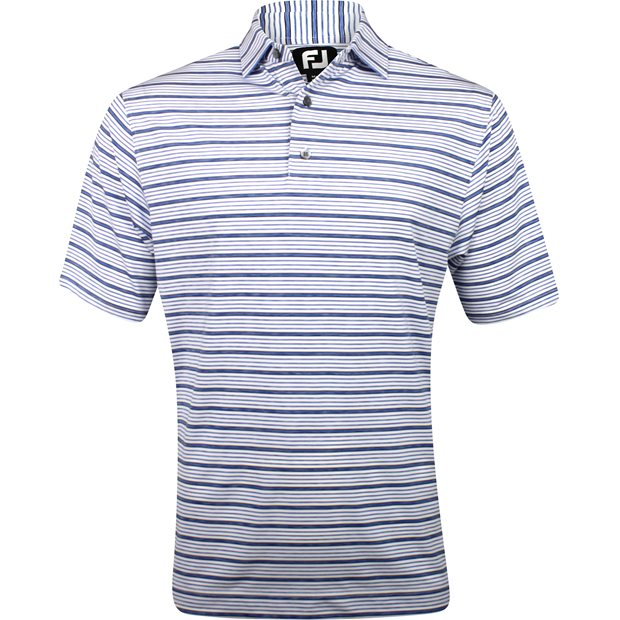 FootJoy Flagstaff Lisle Space Dye Stripe Shirt Apparel