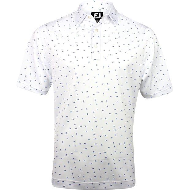 FootJoy Flagstaff Stretch Pique Flower Print Shirt Apparel