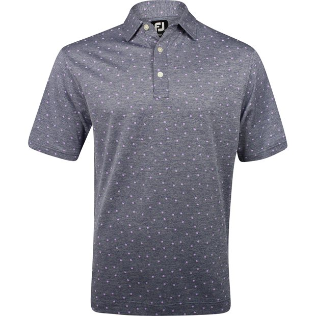 FootJoy Breckenridge Stretch Pique Flower Print Shirt Apparel