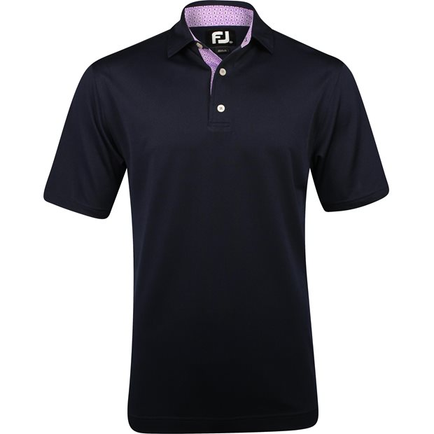 FootJoy Breckenridge Stretch Pique Paisley Trim Shirt Apparel