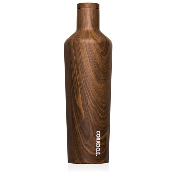 Corkcicle Wood Collection Canteen 25oz Coolers Accessories