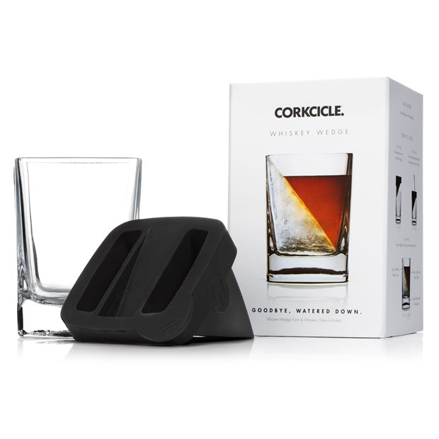Corkcicle Whiskey Wedge Glass Coolers Accessories
