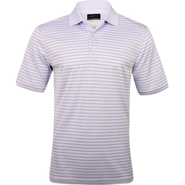 Greg Norman Protek ML75 Microlux Stripe 465 Shirt Apparel